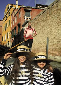 Venice canal girls