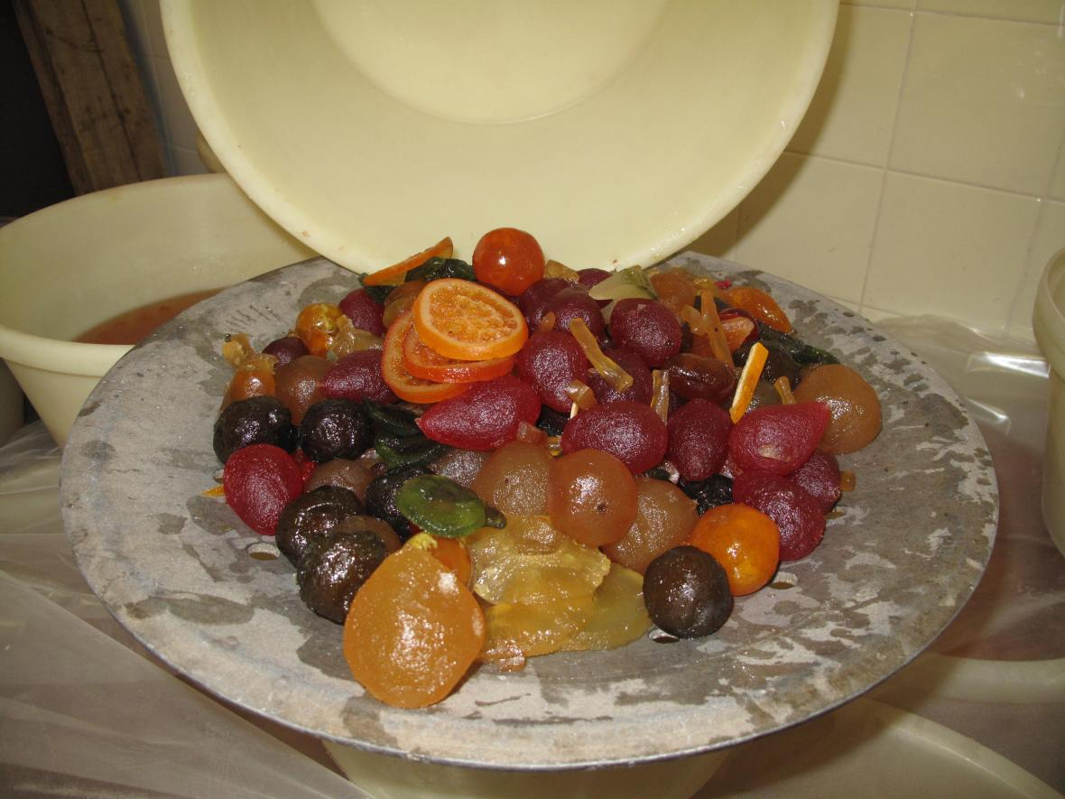 Candied Fruit in Apr