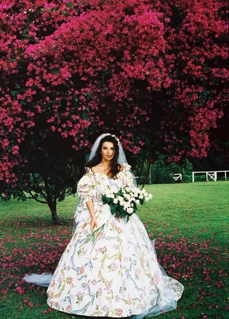 Karen wedding dress